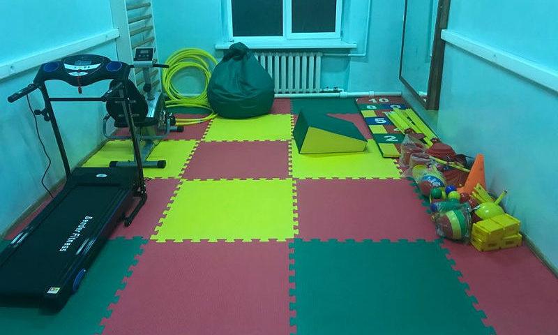В детской городской больнице г.Шахты открыли зал для занятий лечебной физической культурой