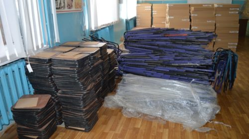 Детская городская больница г.Шахты получила много новой мебели