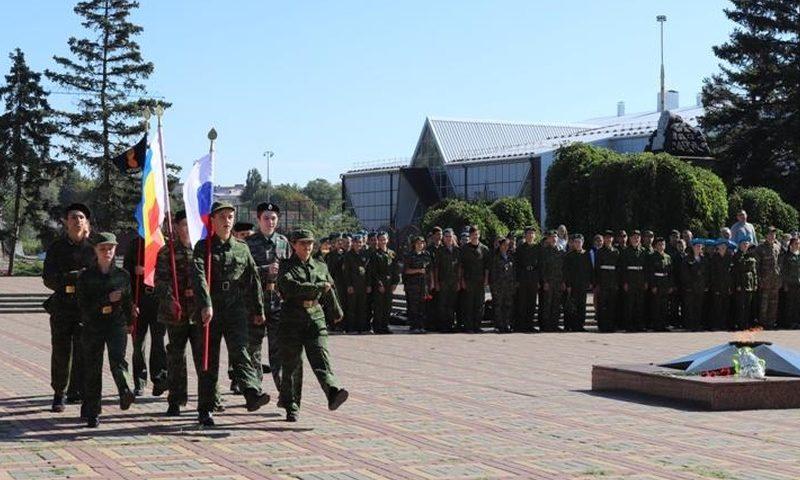 В Шахтах дан старт очередной военно-спортивной игре «Отвага»