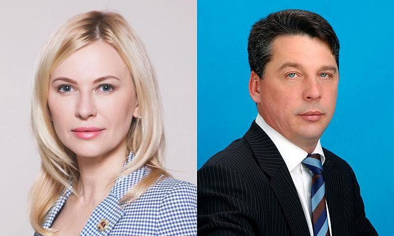Екатерина Стенякина и Игорь Кундрат стали депутатами Законодательного Собрания Ростовской области от города Шахты