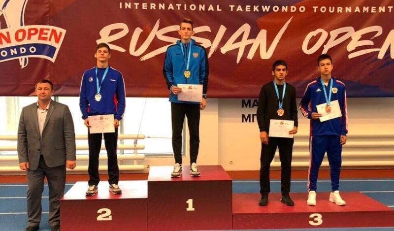 Шахтинские спортсмены приняли участие в международном турнире по тхэквондо в Москве