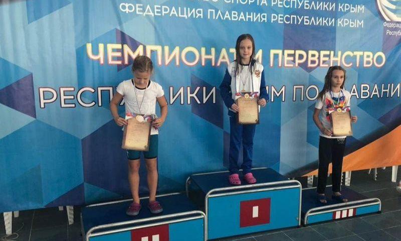 Четыре первых места завоевала шахтинка Валерия Устинова на Чемпионате по плаванию в Крыму