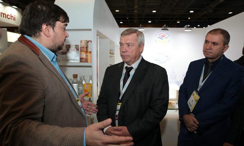 На Европейской торговой выставке СИАЛ в Париже Ростовская область представила свой бренд «Сделано на Дону»