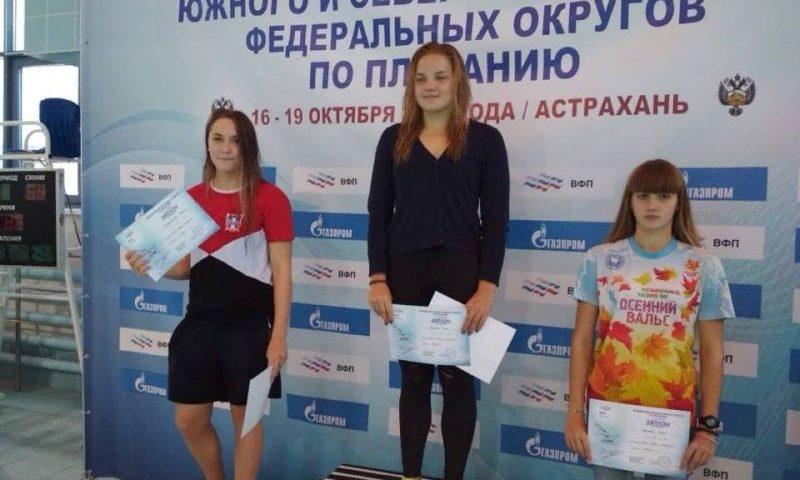 Шахтинские пловцы вернулись с медалями с первенства ЮФО