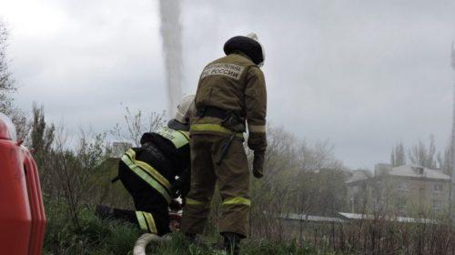 В Шахтах произошел пожар в пятиэтажном доме