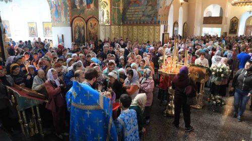 Кафедральный собор Покрова Пресвятой Богородицы отметил храмовый праздник