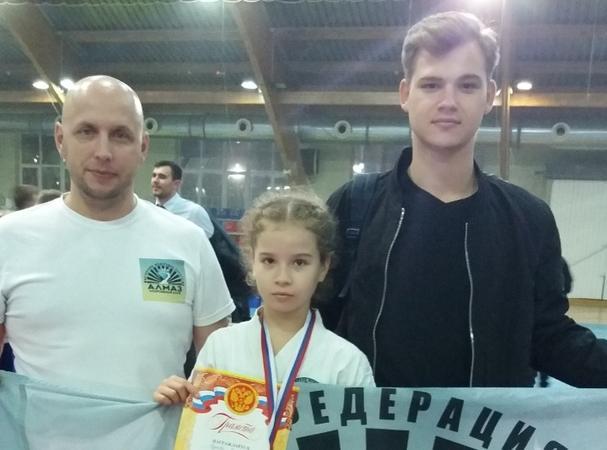 Шахтинская каратистка Виктория Ряднова стала чемпионкой по олимпийскому каратэ
