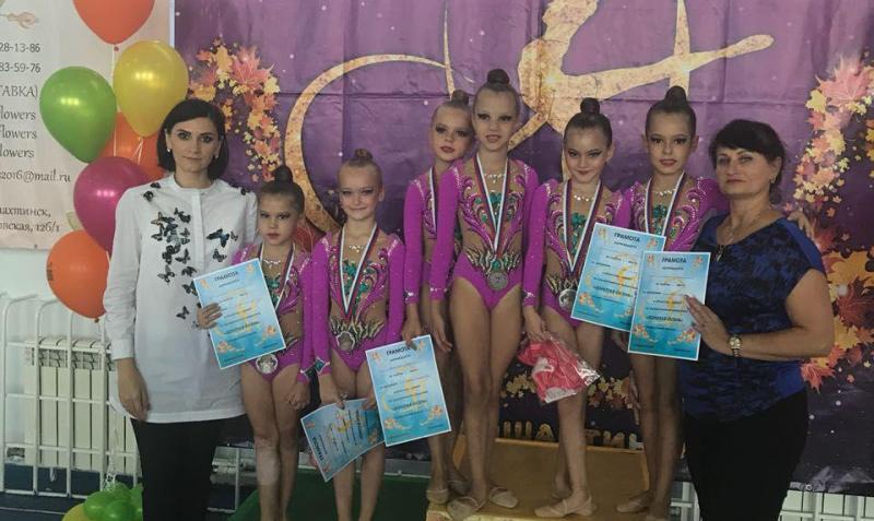 «Золотая осень» принесла золото шахтинским гимнасткам
