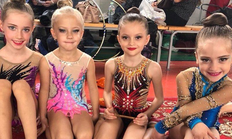 Шахтинские гимнастки стали золотыми медалистками «Гордости тренера»