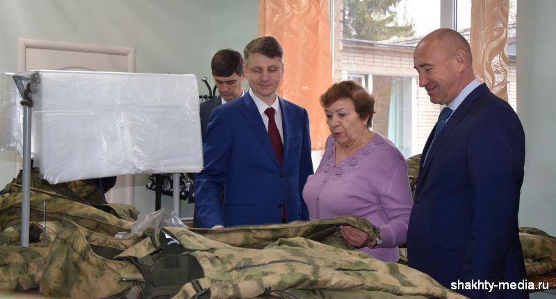 Шахтинские предприятия посетил замгубернатора Ростовской области Владимир Крупин