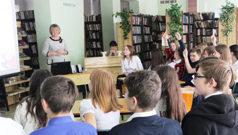 Интеллектуальный поединок «Знания – сила!» провела библиотека им.М.А.Шолохова для ребят из школы №36