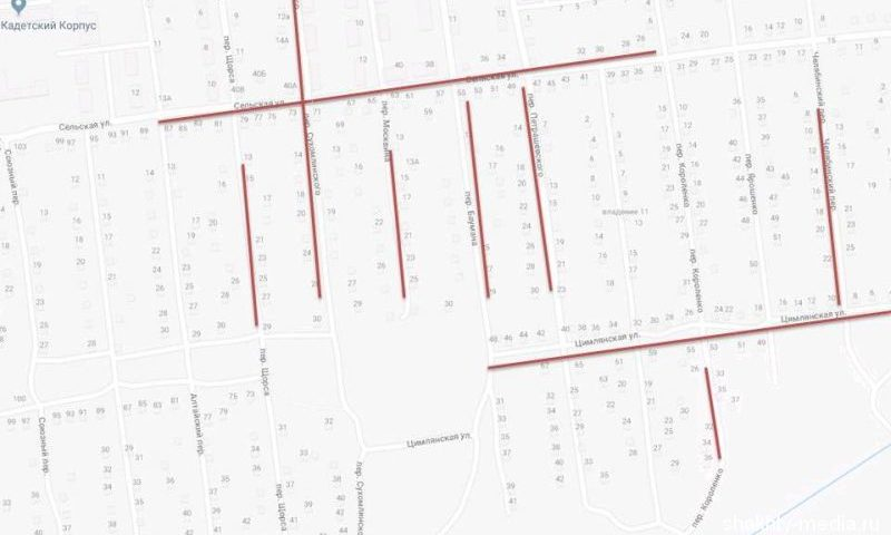 На Сельской и других улицах города Шахты завтра отключат свет