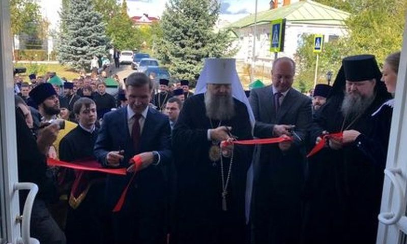 Открылся новый корпус  в Донской духовной семинарии Ростовской-на-Дону епархии Русской Православной Церкви