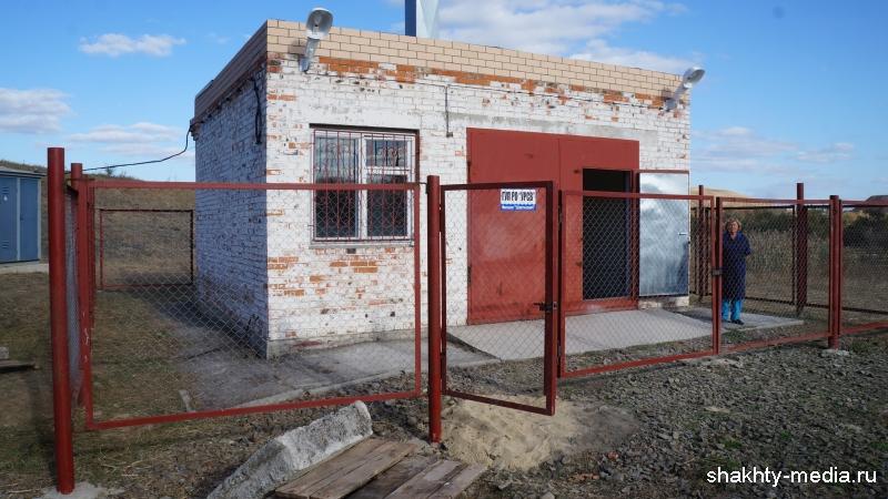Начала работу канализационная насосная станция поселка Таловый г.Шахты