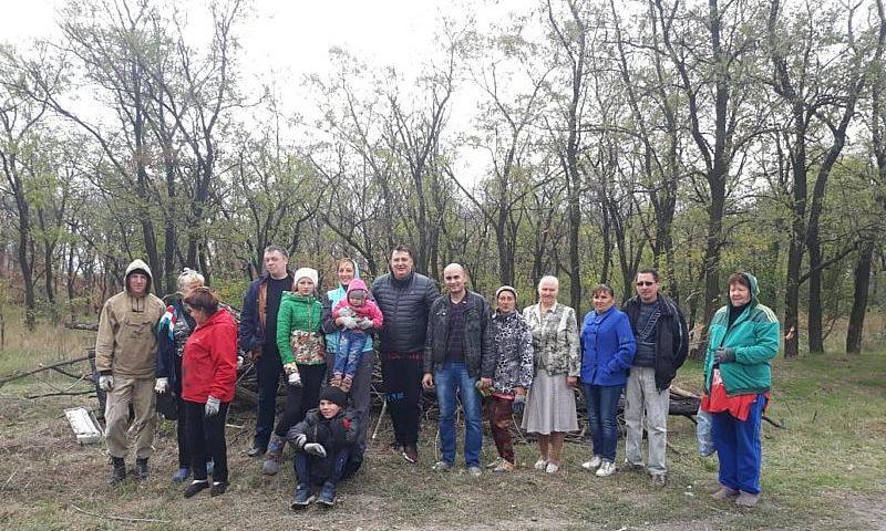 В Шахтах леса очистили от мусора