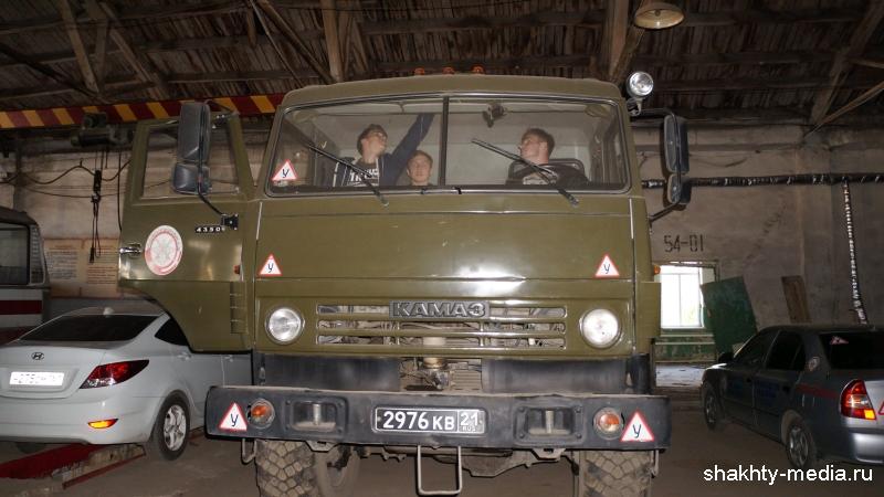 Будущие военные водители приступили к обучению в г.Шахты