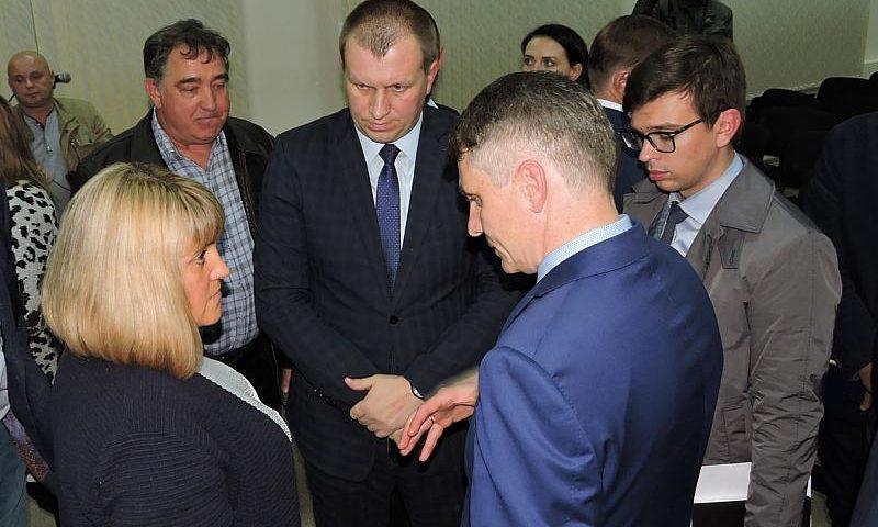 Глава шахтинской администрации встретился с жителями поселка им. Фрунзе