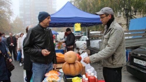 Около ста производителей представили свою продукцию на ярмарке в Шахтах