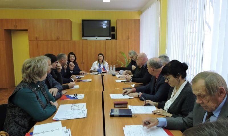 На заседании Шахтинского политсовета тайным голосованием избраны заместители секретаря ШМО ВПП «ЕДИНАЯ РОССИЯ»