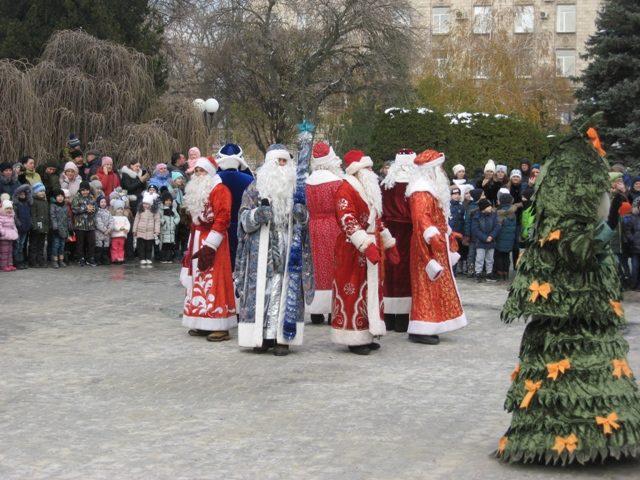 В Шахтах отметили День рождения Деда Мороза