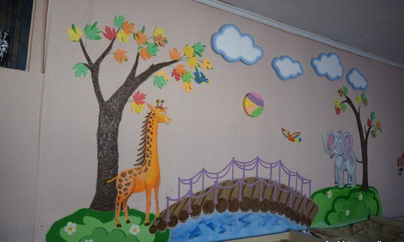 «Сделаем вместе». Благоустройство прогулочных площадок с теневыми навесами в детском саду №34