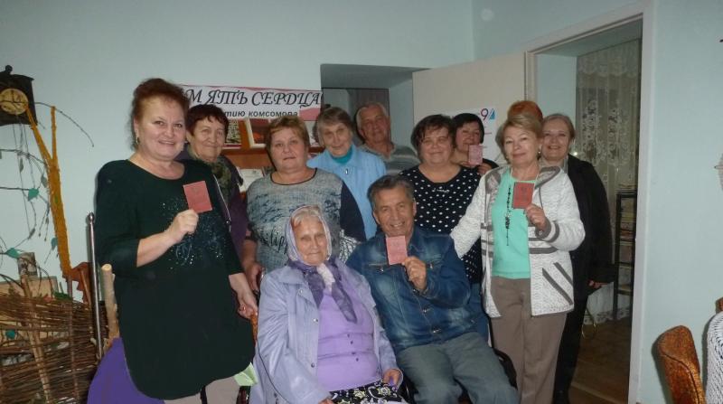В библиотеке им. М.И.Платова прошел вечер «Память сердца», посвященный 100-летию комсомола