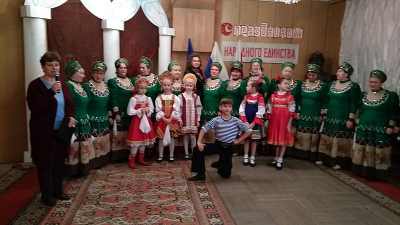 День народного единства жители поселка Майский отметили в ДК им.Чиха