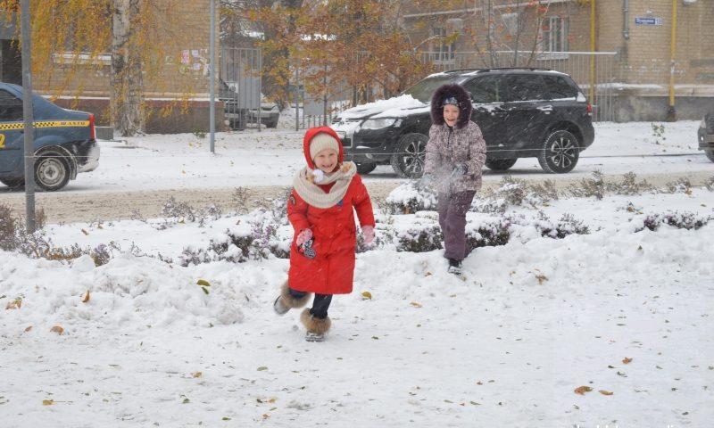 Сильный снег и ветер приготовила погода для шахтинцев в эти выходные