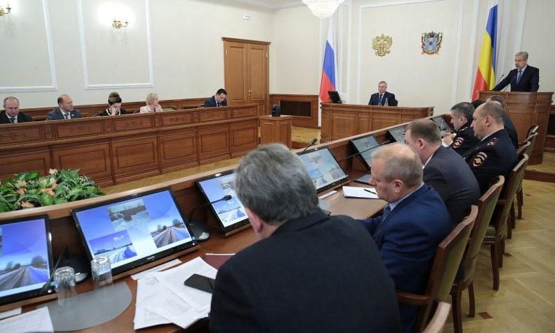 Губернатор Ростовской области потребовал подключить всю дорожную спецтехнику к системе ГЛОНАСС