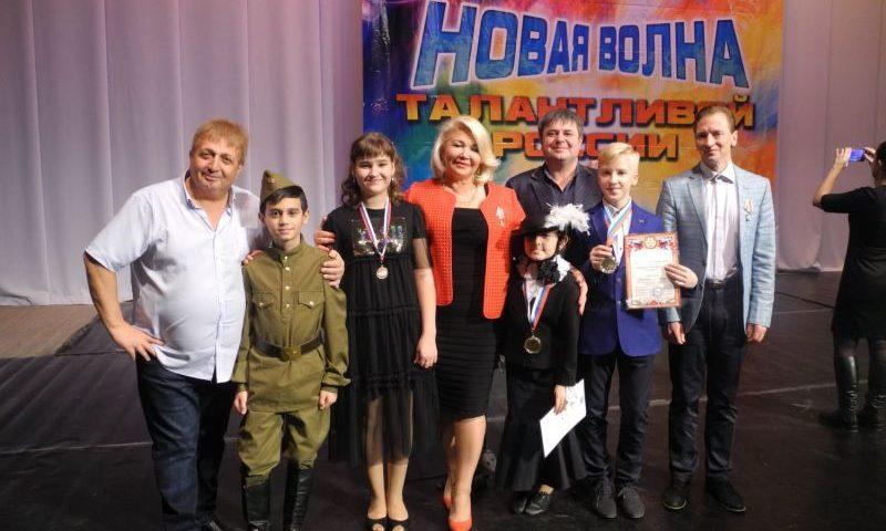 Воспитанники  «Крещендо»  ГДДТ г. Шахты стали победителями в международном конкурсе «Новая волна талантливой России»