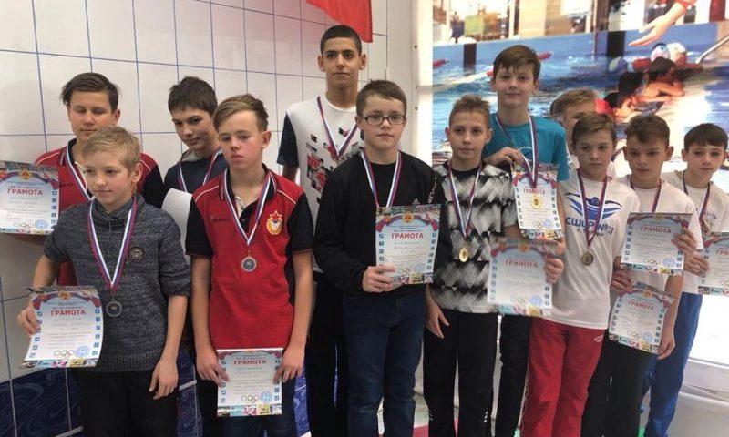 Шахтинские пловцы СШ №5  стали победителями областных соревнований