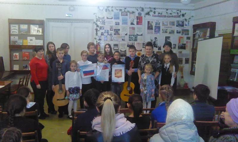В библиотеке им.В. А. Закруткина прошел концерт «Россия — Родина моя»