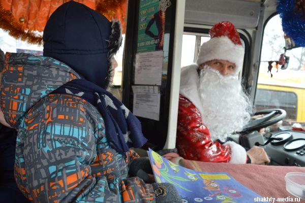 Как в г.Шахты будет работать транспорт в новогодние праздники