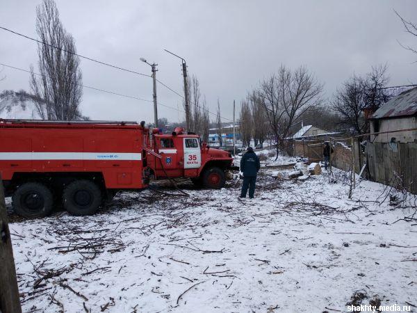 В г.Шахты в пожаре погиб мужчина