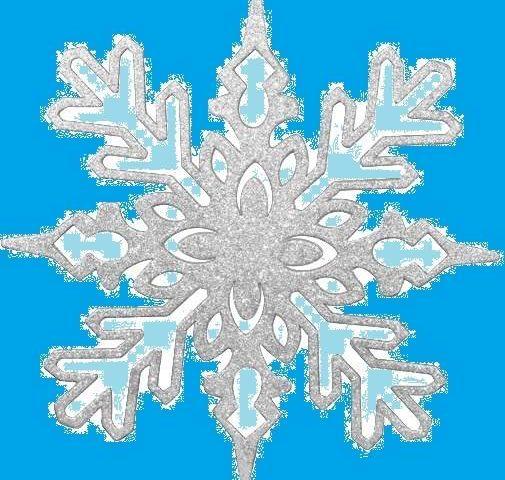 Как сделать красивую снежинку?
