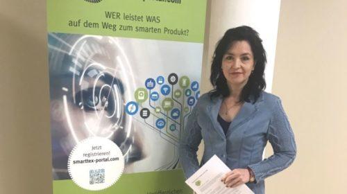 Шахтинские разработки высокотехнологичной защитной одежды представлены на симпозиуме «Smart Textiles» в Германии