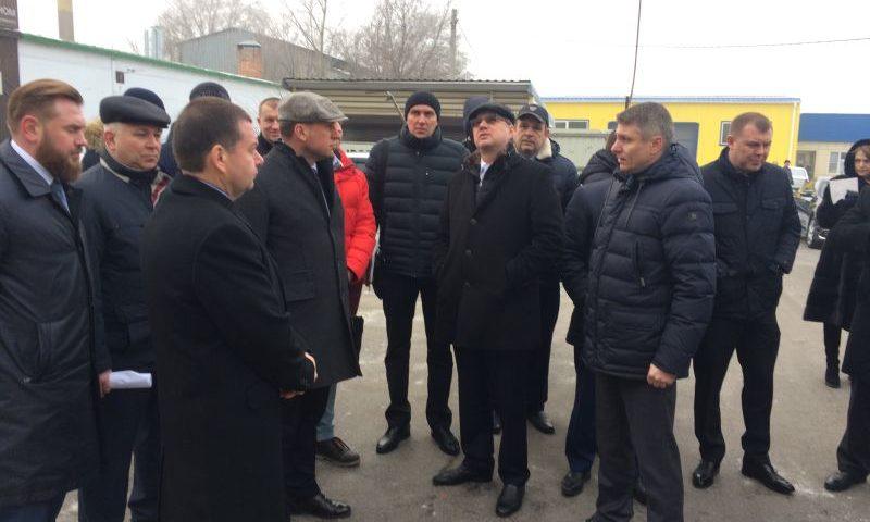 Замгубернатора посетил место трагедии на улице Хабарова в г.Шахты