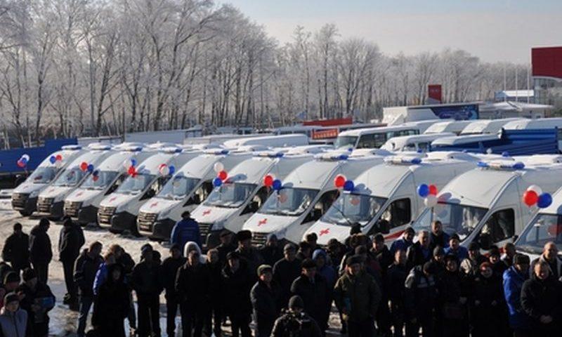 Более 40 новых автомобилей скорой помощи поступило в Ростовскую область