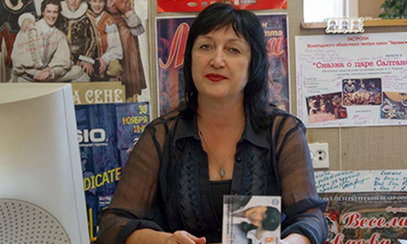 Галина Виноградова, заместительдиректора Шахтинского драматического театра по зрителю: