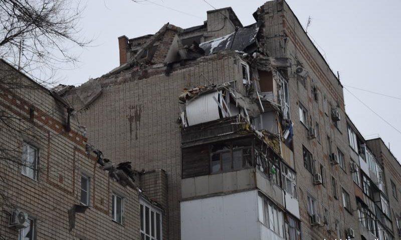 Новые подробности взрыва в доме на улице Хабарова в г.Шахты