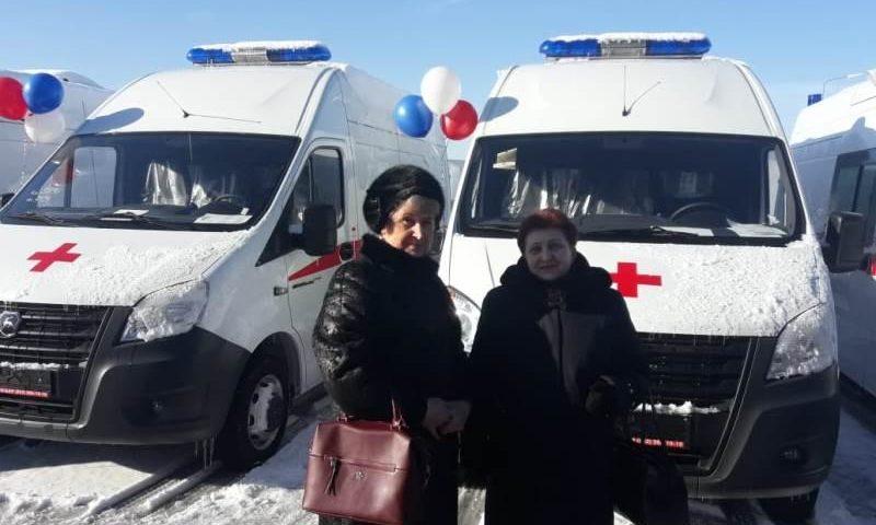 4 новых автомобиля скорой помощи поступило в город Шахты