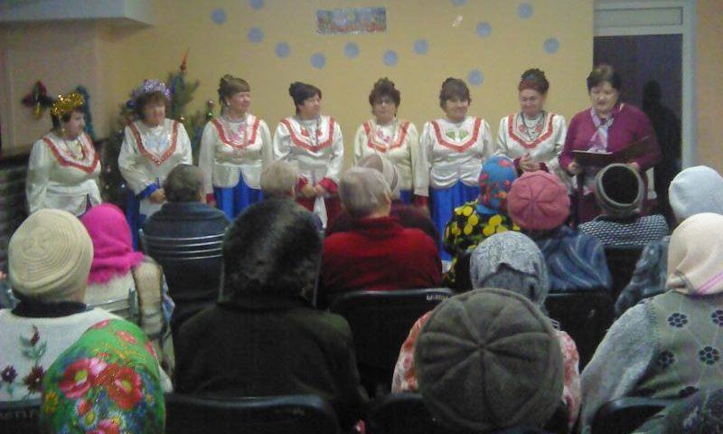 Праздник «Васильев день или Старый Новый год» устроила библиотека им. В. А. Закруткина  для престарелых и инвалидов