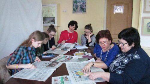 """В редакции """"Шахтинских известий"""" прошел первый в этом году редсовет детской газеты """"ШАНС"""""""