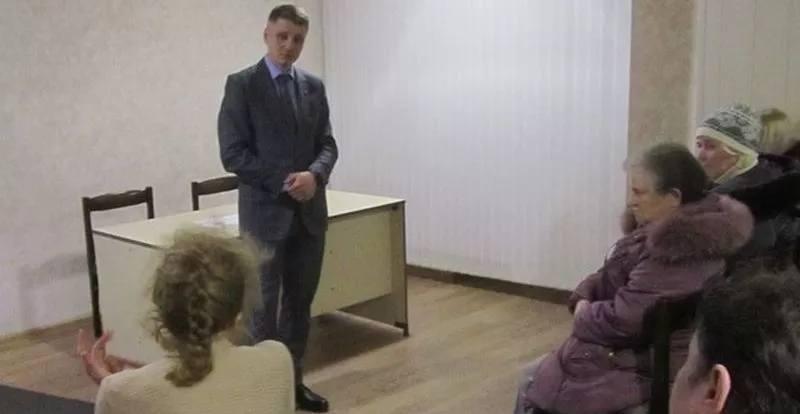 Глава администрации встретился в гостинице «Горняк» с пострадавшими шахтинцами
