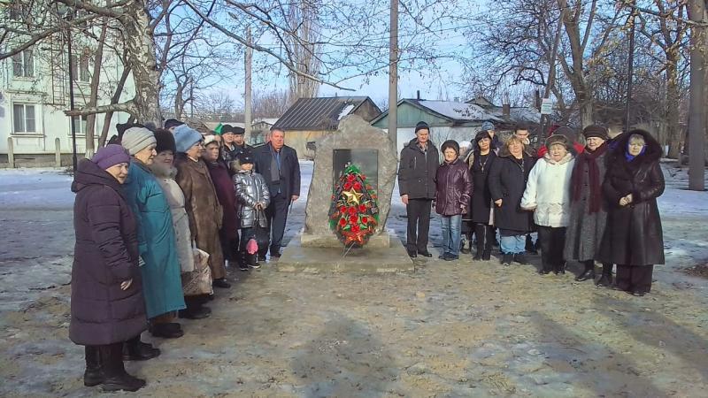 Митинги в честь освобождения г.Шахты прошел в поселках Майский и Нежданная