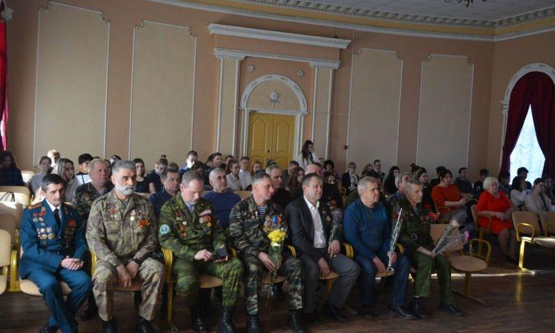 30-летнюю дату вывода ограниченного контингента советских войск отметили в ГДДТ г. Шахты
