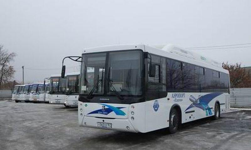Автобусы большой вместимости выходят на маршрут № 700 «Ростов-на-Дону – аэропорт «Платов»
