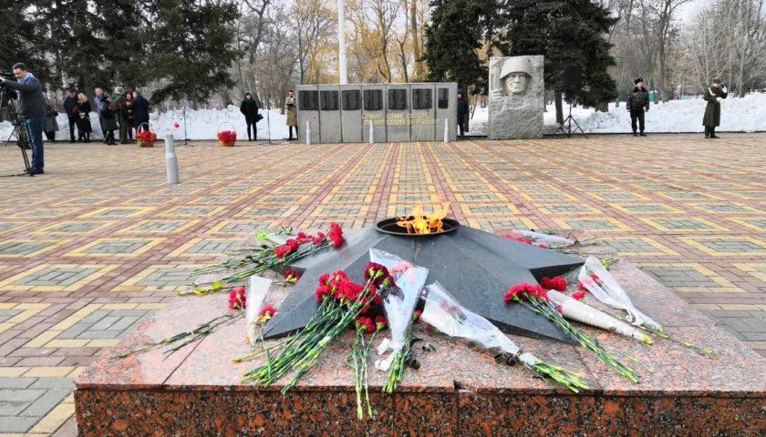 Шахтинцы отметили День освобождения родного города (ФОТО, ВИДЕО)