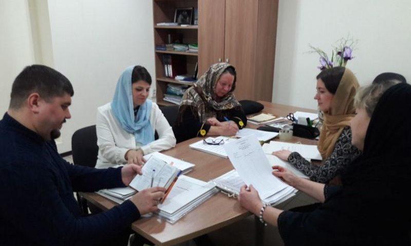 Преподаватели регентских курсов при духовно-просветительском центре кафедрального собора г. Шахты обсудили план работы