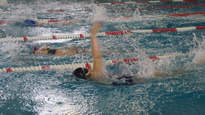 Шахтинцы заняли второе место на областных соревнованиях по плаванию